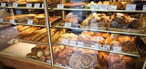 boulangerie avec des pâtisseries françaises