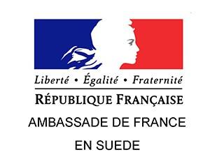 logo ambassade de France en Suède