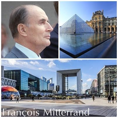 Montage François Mitterrand