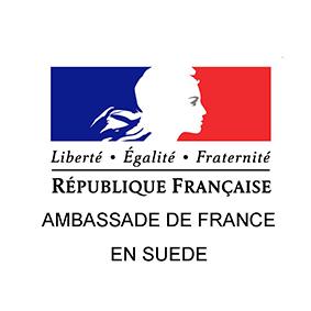 Fransk Ambassaden i Sverige är en av de partner av Aliiance Française i Örebro