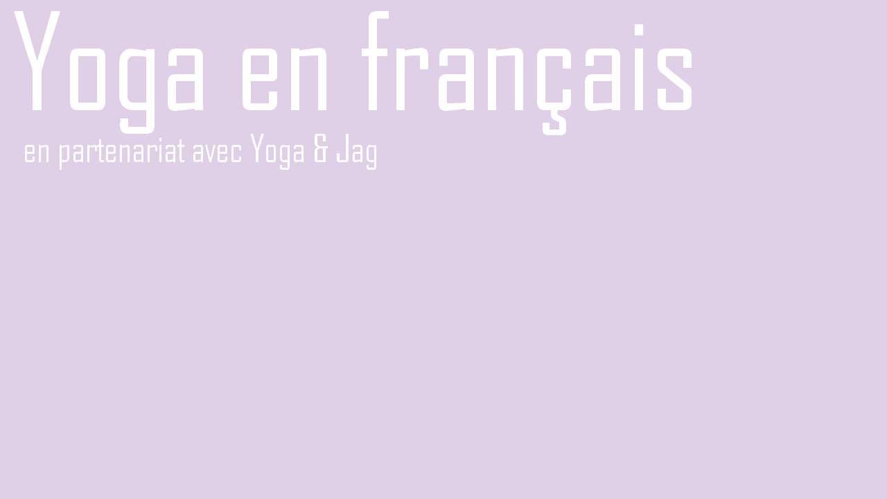 yoga couleur